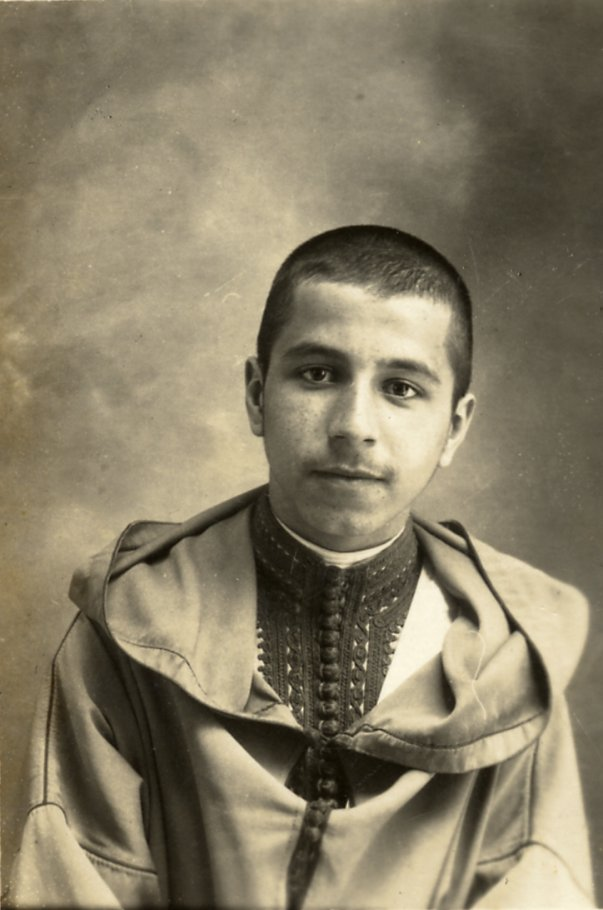 Said Hajji at 15 yrs, in traditional garb, 1927